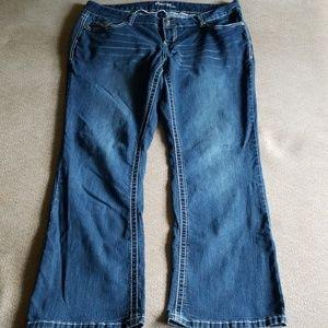 Amethyst jeans plus size 18 x 31